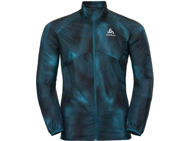 Odlo Omnius Light - Veste course à pied Homme - bleu sur CAMPZ ! c701c5c7a8c